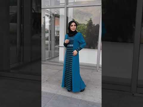 Zoe Arissa Jubah Dress Muslimah Plus size