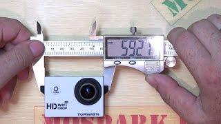 Огляд экшнкамеры Turnigy HD WiFi (розпакування, огляд, приклад відео, розміри і вага)