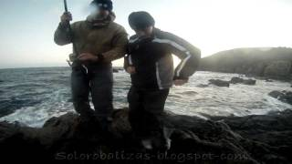 Salida de pesca con mi hijo Raúl