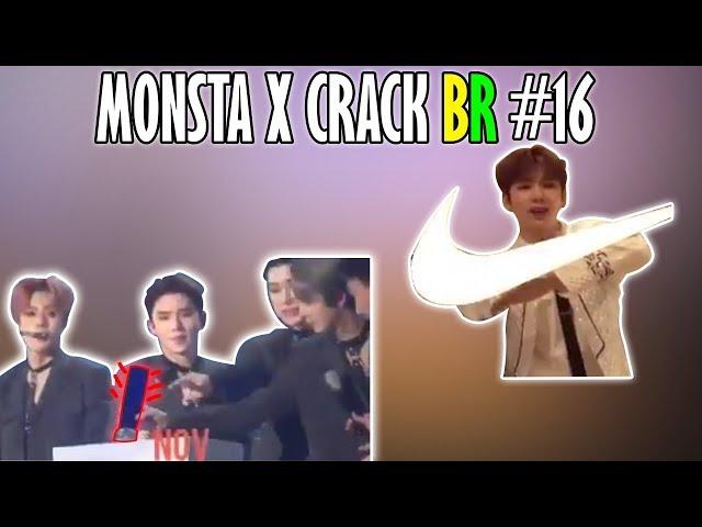 MONSTA X CRACK BR #16: HYUNGWON DEVOLVEU O PRÊMIO SEM QUERER E KIHYUN MENINO DA NIKE