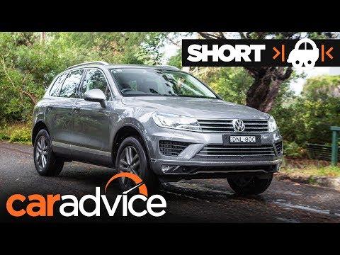 2017 Volkswagen Touareg Adventure: Quick Review | CarAdvice