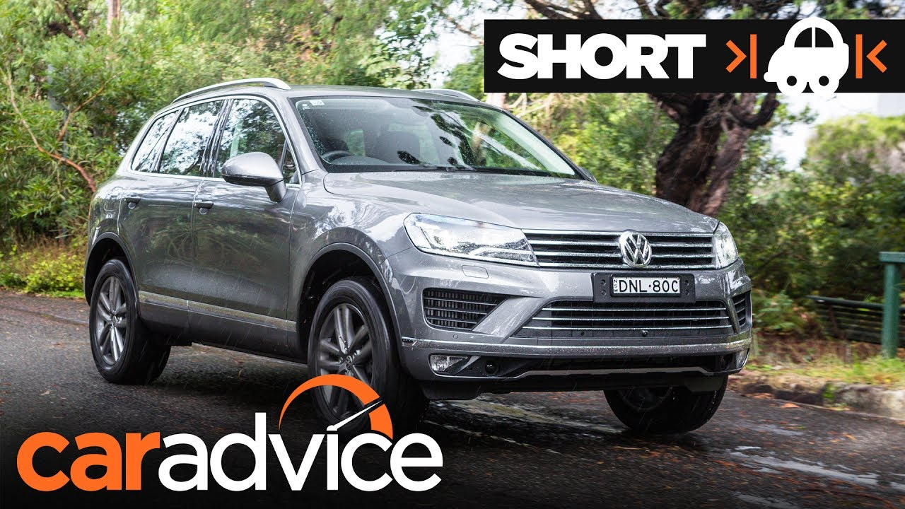 2017 Volkswagen Touareg Adventure Quick Review Caradvice