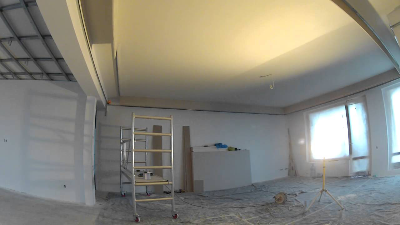 Drywall Finishing Concealed Lighting