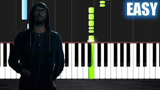 Maroon 5 - Animals - EASY Piano Tutorial by PlutaX