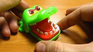 Игрушка кусающий крокодил. Посылка из Китая!