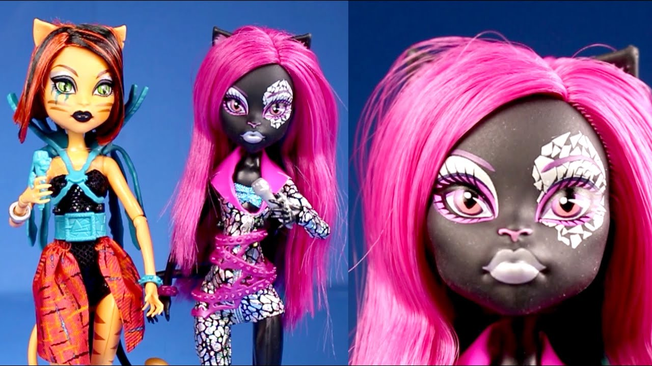 New Monster High Dolls Collection Fierce Rockers Singers