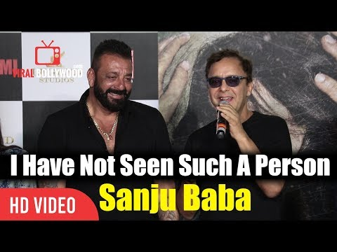 I Have Not Seen Such A Person Vidhu Vinod Chopra | Sanjay Dutt Is An Exceptional Person | Bhoomi