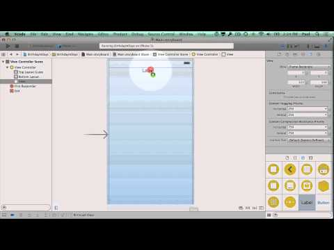 Swift 3 - Design Your iPhone App User Interface in Xcode 6 - Make iPhone Apps