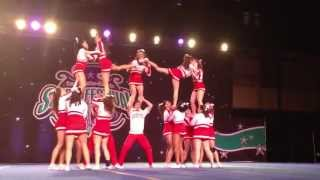 Boston University Cheerleading Small Coed I 2013