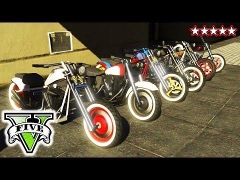 GTA BIKER GANG!   Riding & Killing with the Crew GTA V   GTA 5 CUSTOM BIKES