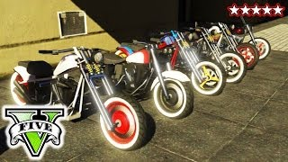 GTA BIKER GANG! | Riding & Killing with the Crew GTA V | GTA 5 CUSTOM BIKES