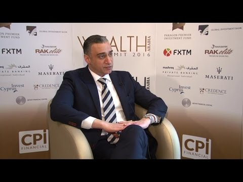 Reza Dari, CEO, Global Investment Bank at the WEALTH Arabia Summit 2016