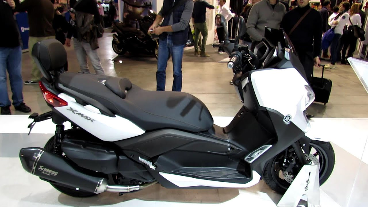 2014 yamaha x max 400 abs scooter walkaround 2013 eicma. Black Bedroom Furniture Sets. Home Design Ideas