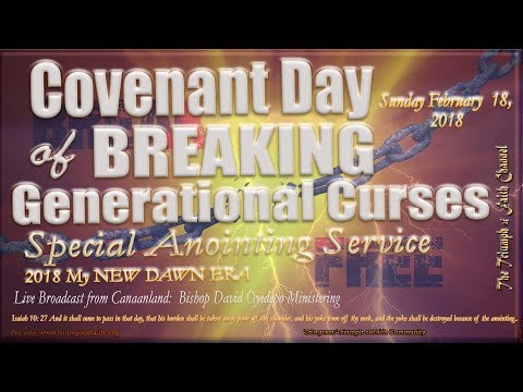 Special Anointing Service,  February 18, 2018
