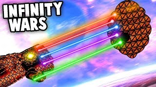 INFINITY War Lasers! NEW Mod = Best Lasers! (Forts Gameplay)