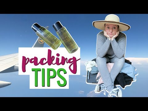 Travel Packing Tips: How To Pack Your Suitcase (+ Free Packing Checklist)