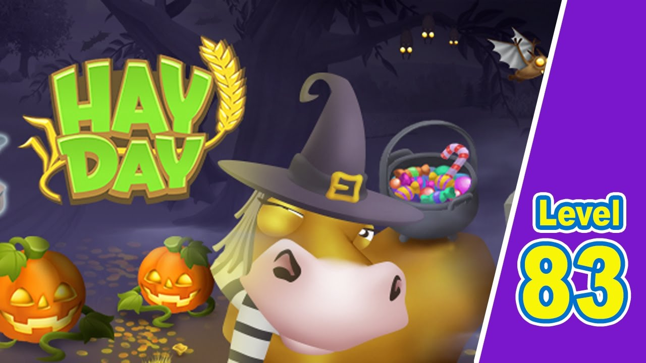 Hay Day 83 Halloween Best Casual Games Youtube