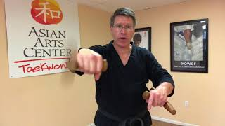 LEARN HOW TO SPIN THE JAPANESE TONFA   MATT PASQUINILLI