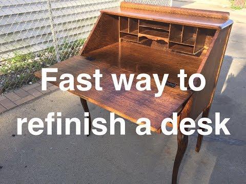Antique Desk Refinishing