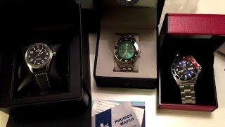 Unboxing To New Dive Watches And A Cool Flieger
