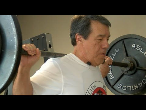 Local 73-year-old powerlifter setting records