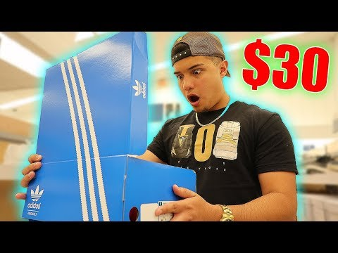 MARSHALLS HAD THESE ADIDAS FOR ONLY $30!! **SHOCKED**