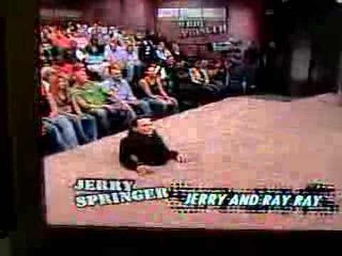 jerry springers security guy youtube