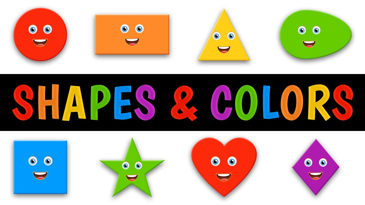 Worksheet Shapes And Colors shapes and colors song for children youtube