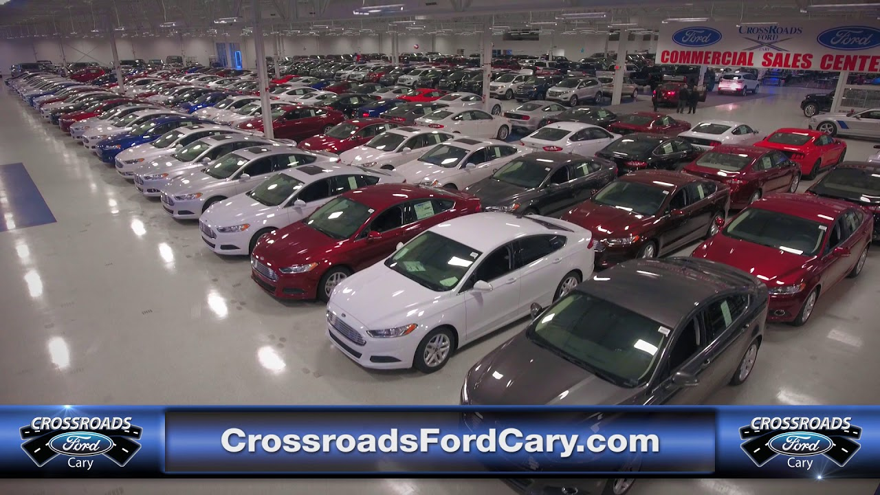 Crossroads Ford Cary Lion Charlie Cars 10 20 17