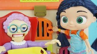 Cingöz Nine ve Wissper Eğlenceli Çocuk Videosu Sürpriz Oyuncaklar