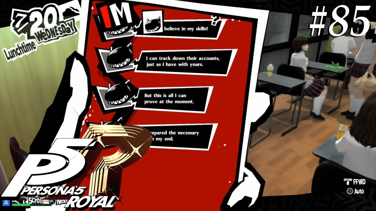 Persona 5 Royal [85] Who is Medjed?