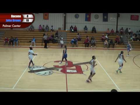 Bacone vs. John Brown Woman's Basketball