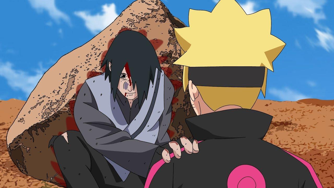 Sasuke Uchihas Death Final Moments Boruto Episode Fan Animation