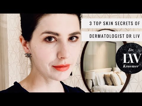 Top 3 dermatology beauty skincare tips from Dr Liv