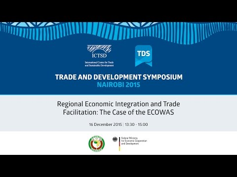 TDS LIVE | Regional Economic Integration and Trade Facilitation: The Case of the ECOWAS