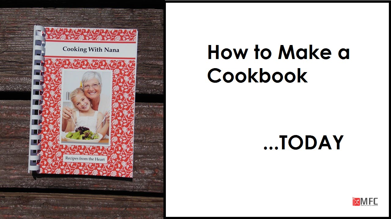 cookbook software to organize recipes make cookbooks youtube