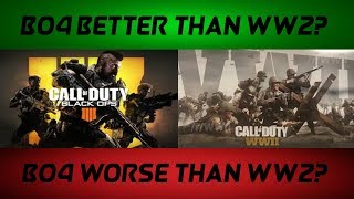 Is Black Ops 4 Better Or Worse Than WWII? (BO4 Gemeplay)