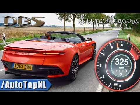 Aston Martin DBS Superleggera Volante 725HP V12 | 0-325km/h ACCELERATION by AutoTopNL