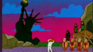 Dr. Zaius Müzikal Maymunlar Simpsons - Gezegen -