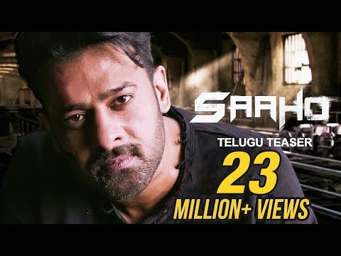 Saaho - Official Telugu Teaser | Prabhas, Sujeeth | UV Creations