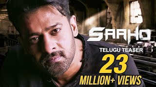 Saaho Official Telugu Teaser , Prabhas, Sujeeth , UV Creations