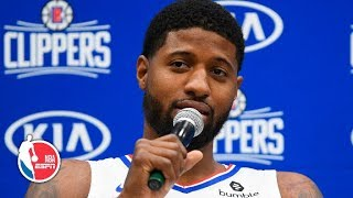 Paul George and Montrezl Harrell full press conference | LA Clippers | 2019 NBA Media Day