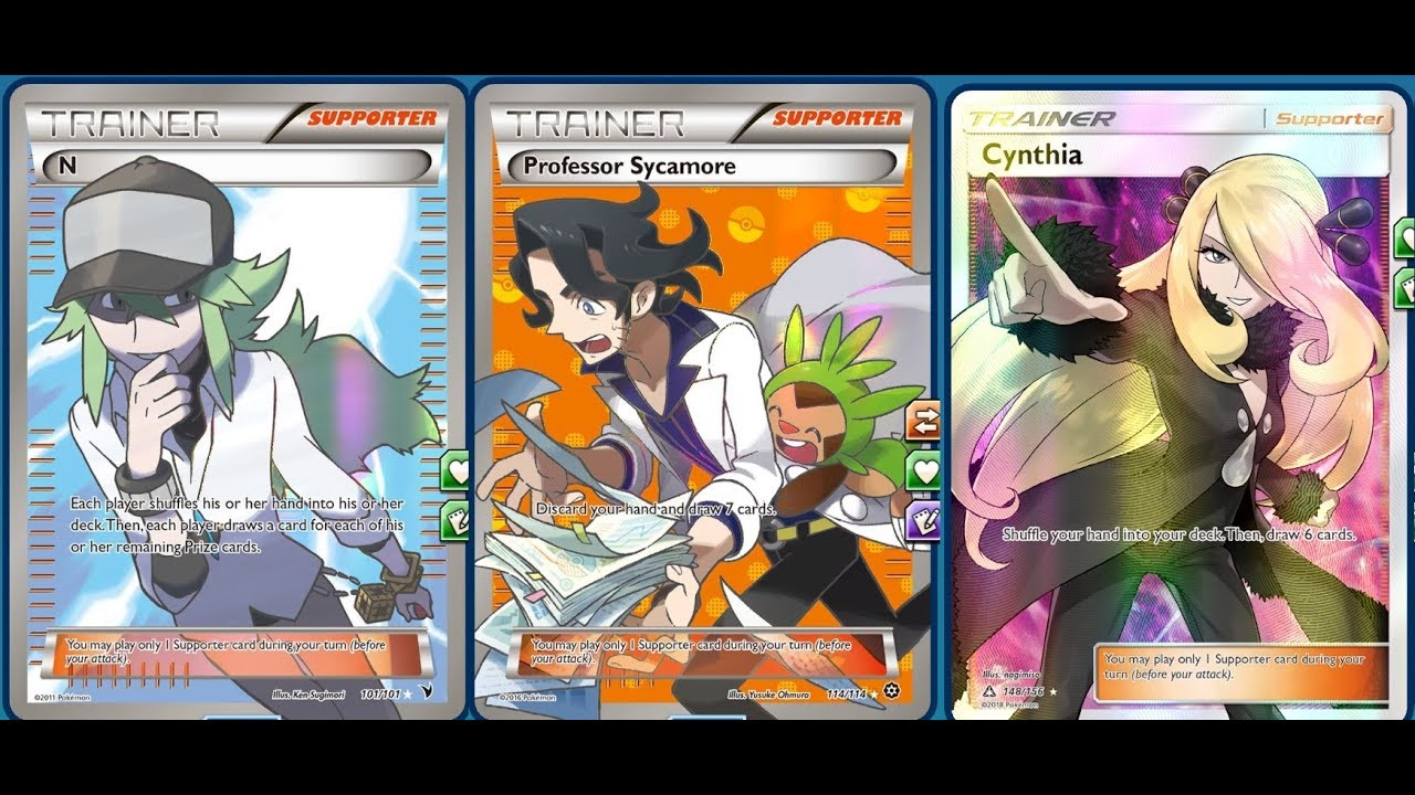 how to make a good pokemon deck