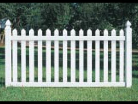 HOW TO INSTALL A VINYL PICKET FENCE PART 2 YouTube