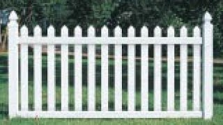 How To Install A Vinyl Picket Fence Part 2