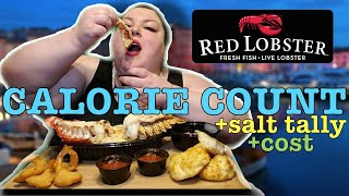 """CALORIE COUNT - Foodie Beauty """"RED LOBSTER MUKBANG"""""""
