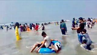 Cox Bazar beach | popular tourist attraction in Bangladesh