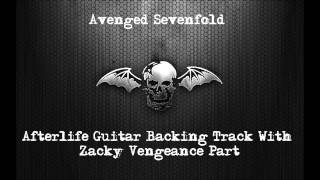 Avenged Sevenfold - Afterlife Guitar Backing Track With Zacky Vengeance Guitar Part - With Vocals