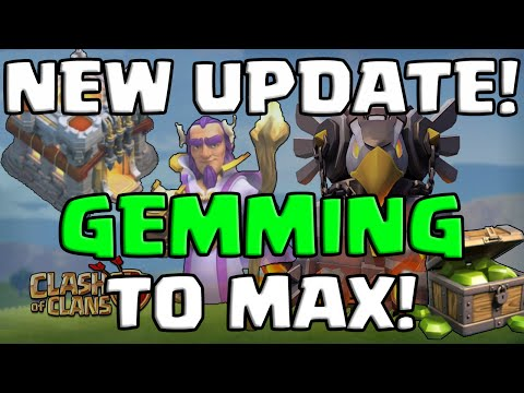Clash of Clans | NEW UPDATE - 170,000 GEMS TO MAX! | JORGE YAO