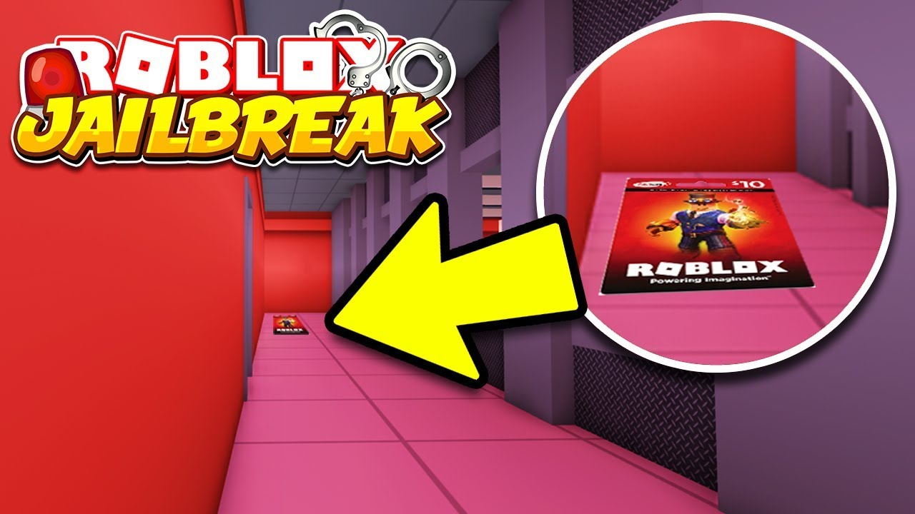 Hidden Robux Card In Jailbreak 2 Find The Free Robux Hide
